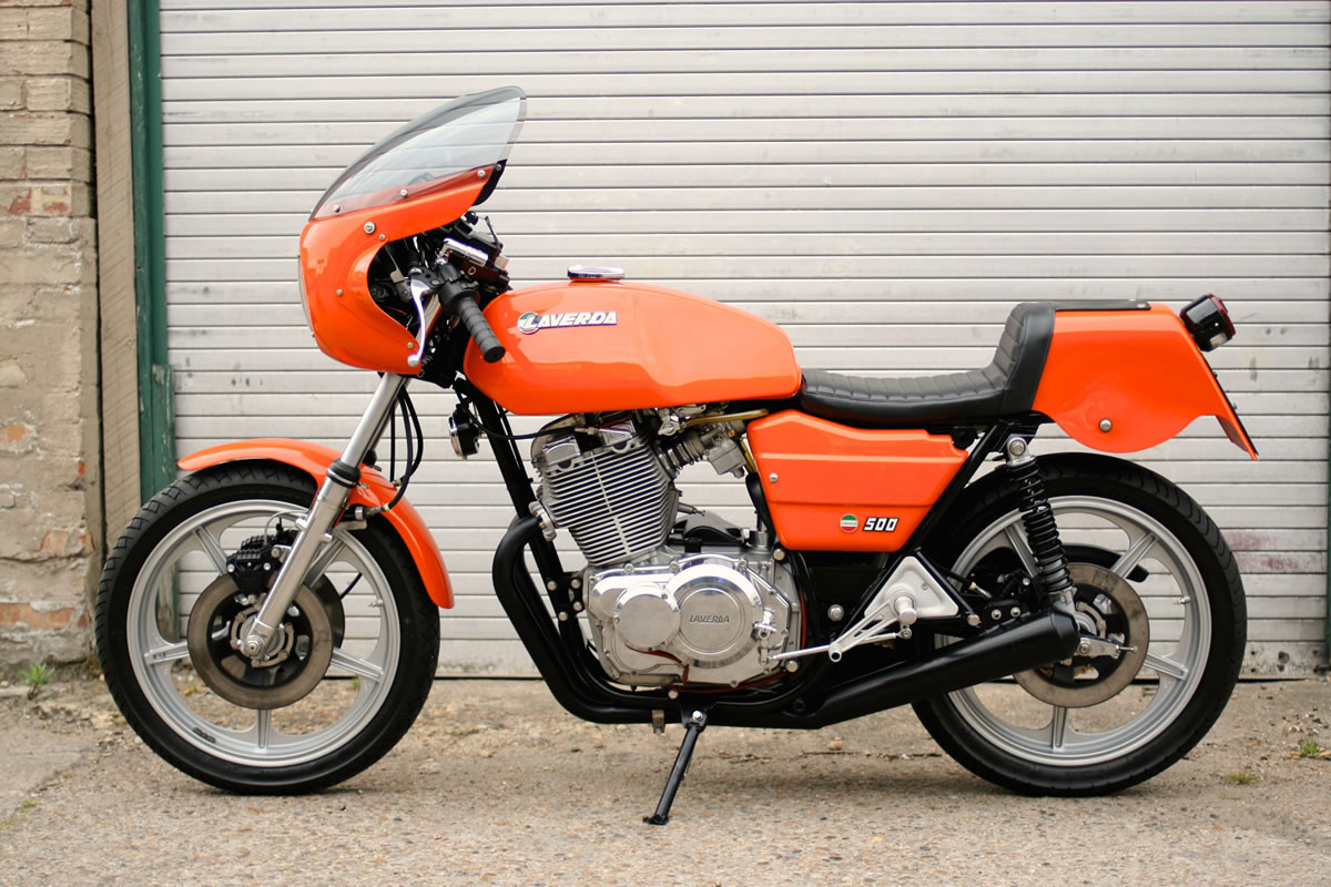 Laverda 500 1977 wallpapers #145849