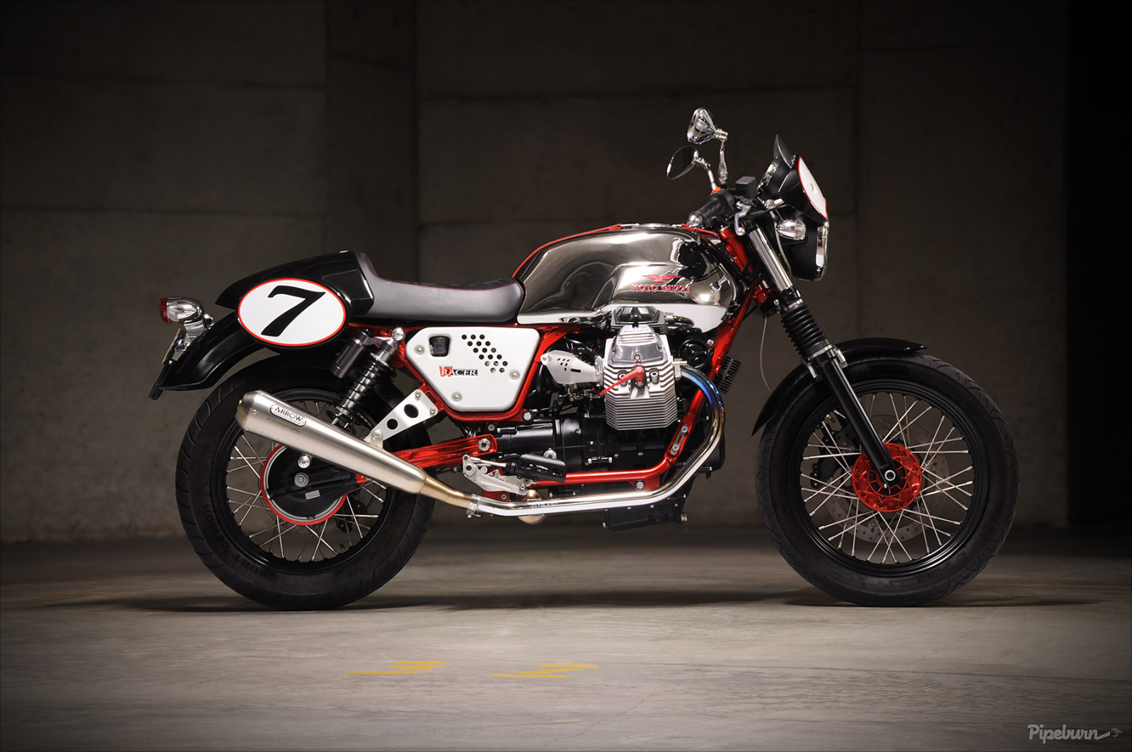 2013 Moto Guzzi V7 Racer: Pics, Specs And Information