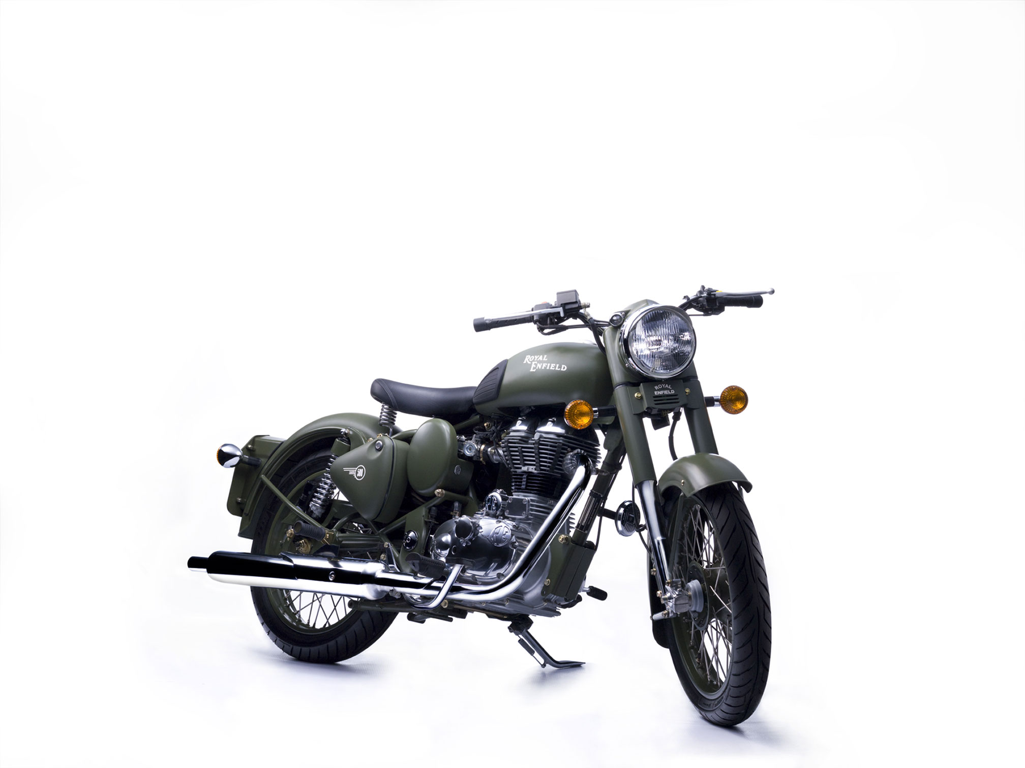 Royal Enfield Bullet 350 Army 1989 images #122473