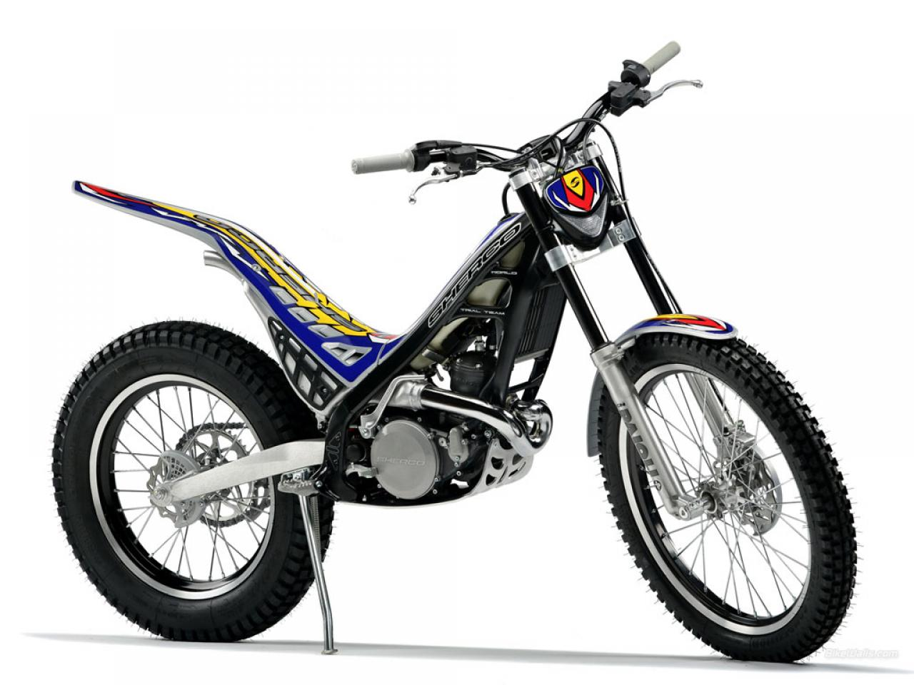 Sherco 125cc Enduro Shark Replica 2007 images #124657