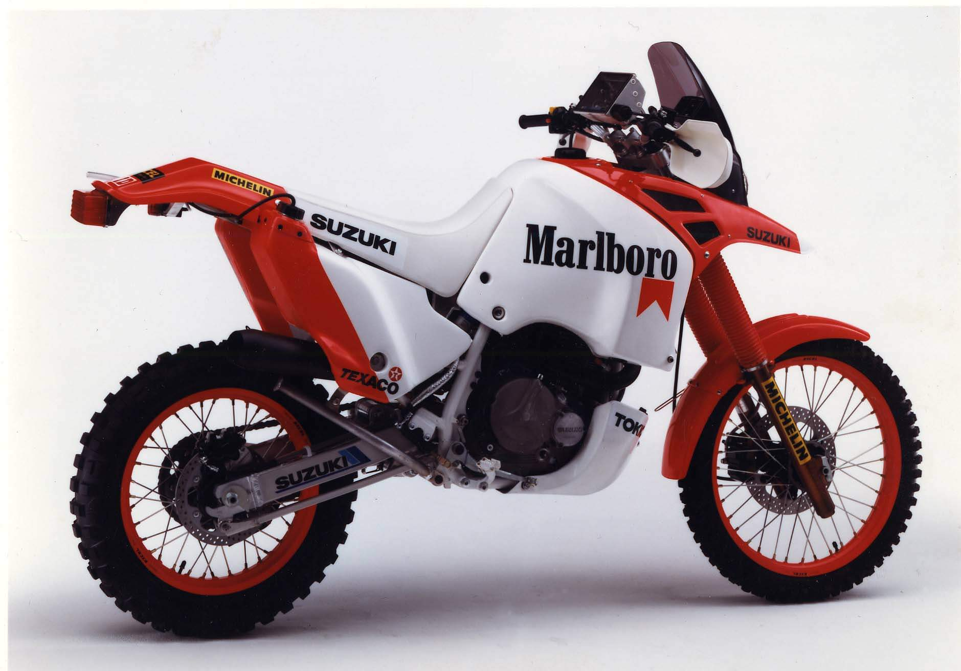 Suzuki DR 600 R Dakar 1988 wallpapers #160525