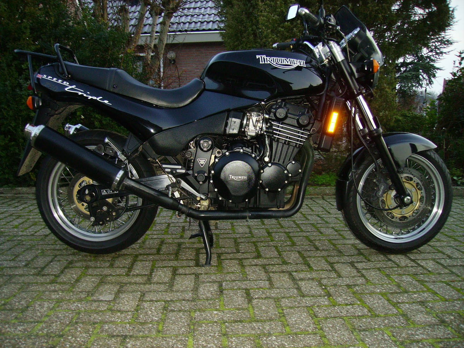 Triumph Speed Triple 900 1996 images #159237
