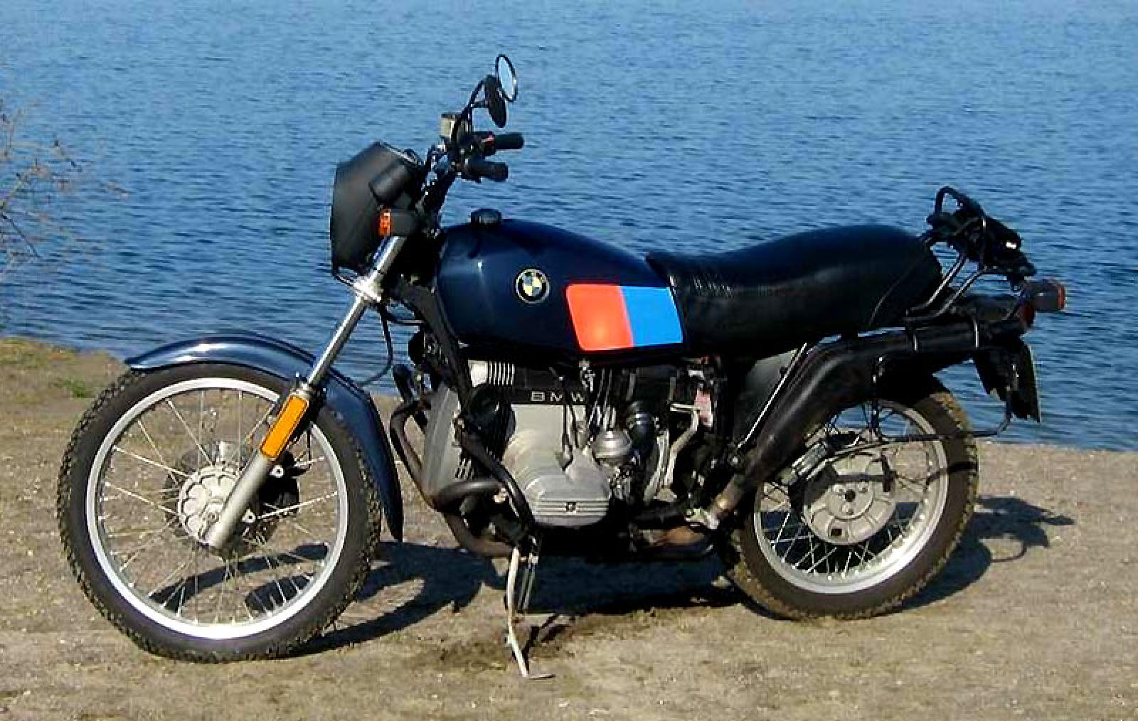 BMW R100GS 1988 images #30791
