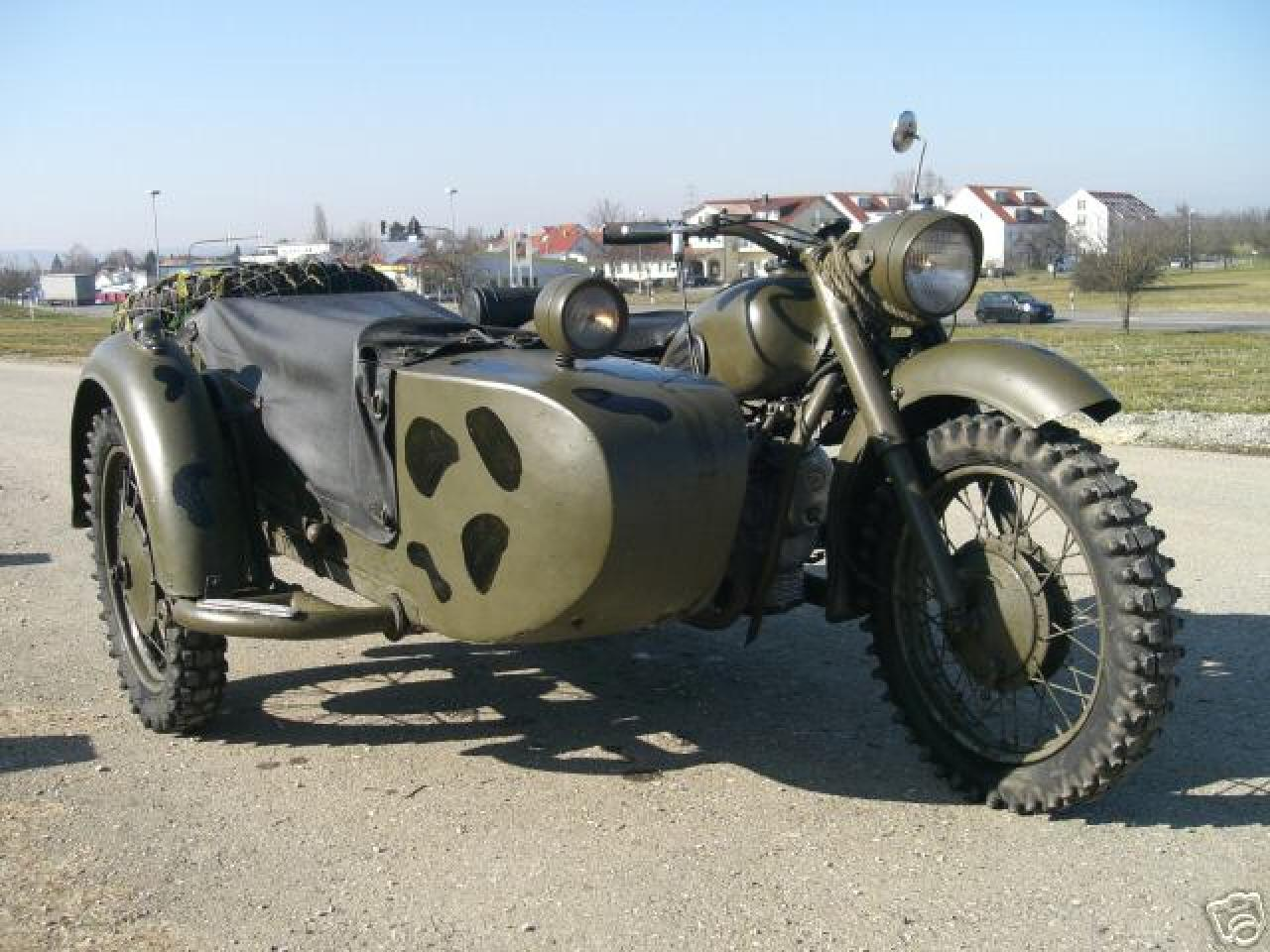 Dnepr MT 11 with sidecar 1987 images #95613