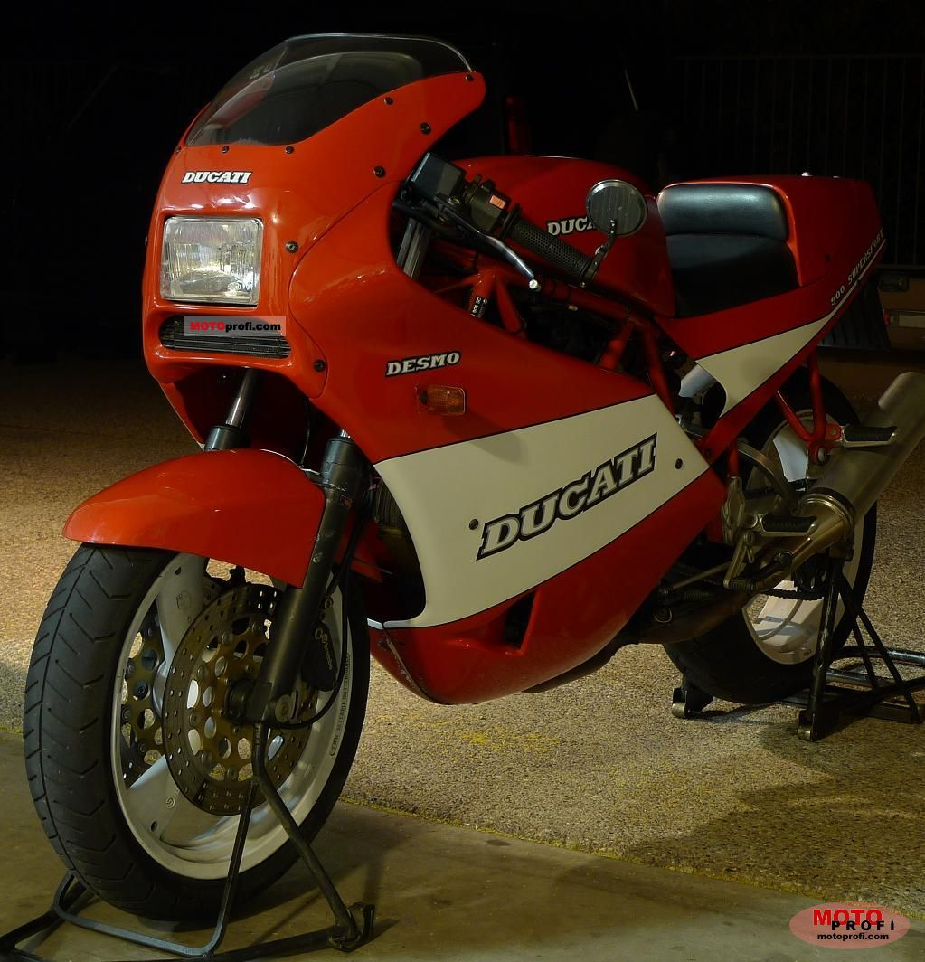 Ducati 900 SS Super Sport 1989 wallpapers #10447
