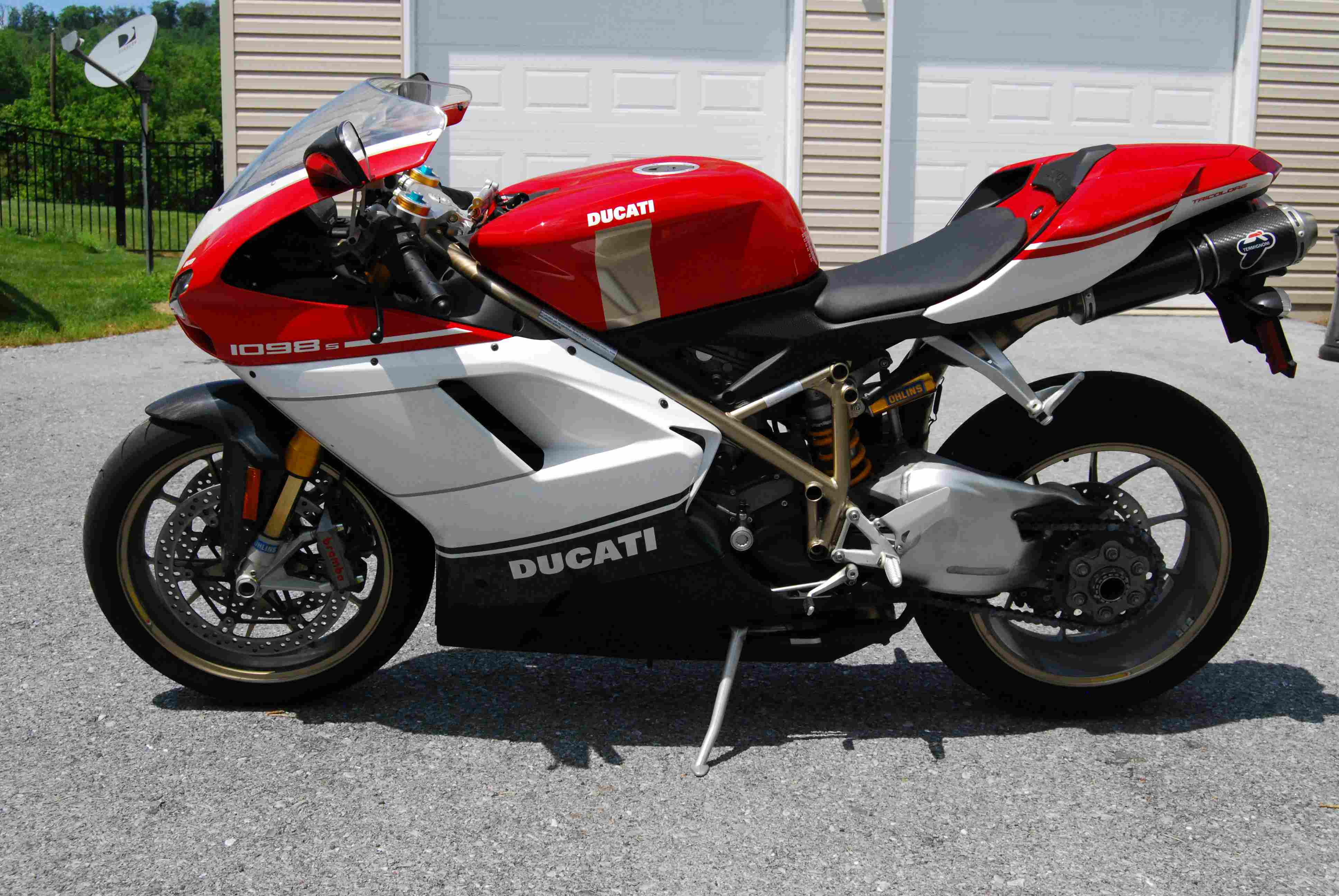 Ducati Superbike 1098 S Tricolore wallpapers #12038