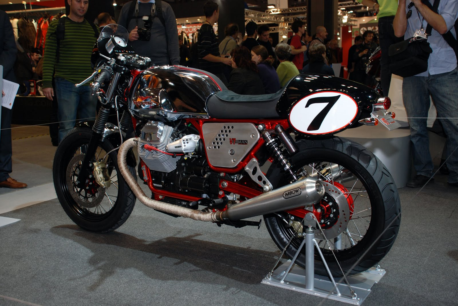 Moto Guzzi V7 Clubman Racer 2010 wallpapers #139502