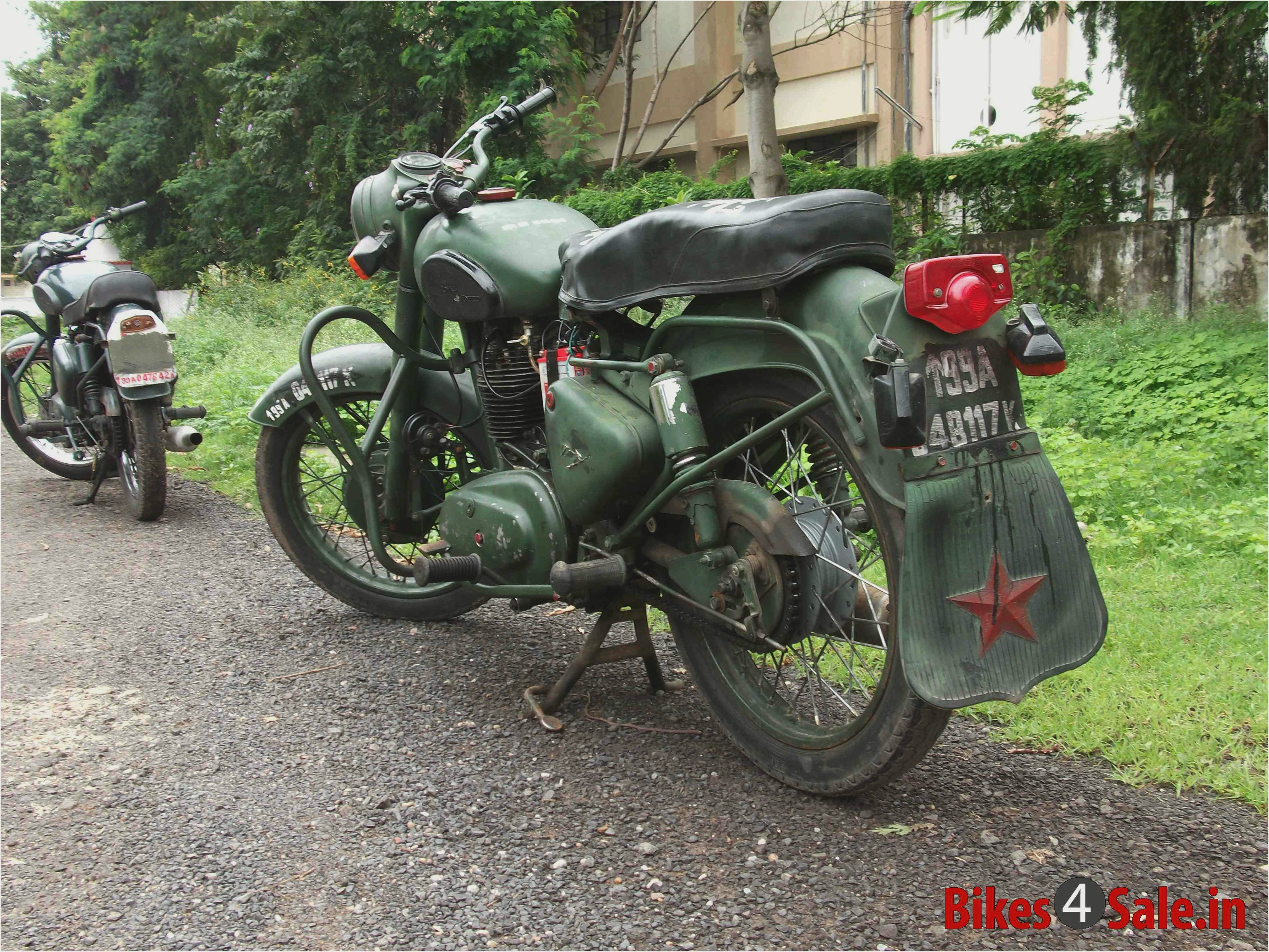 Royal Enfield Bullet 350 Army 1989 images #122474