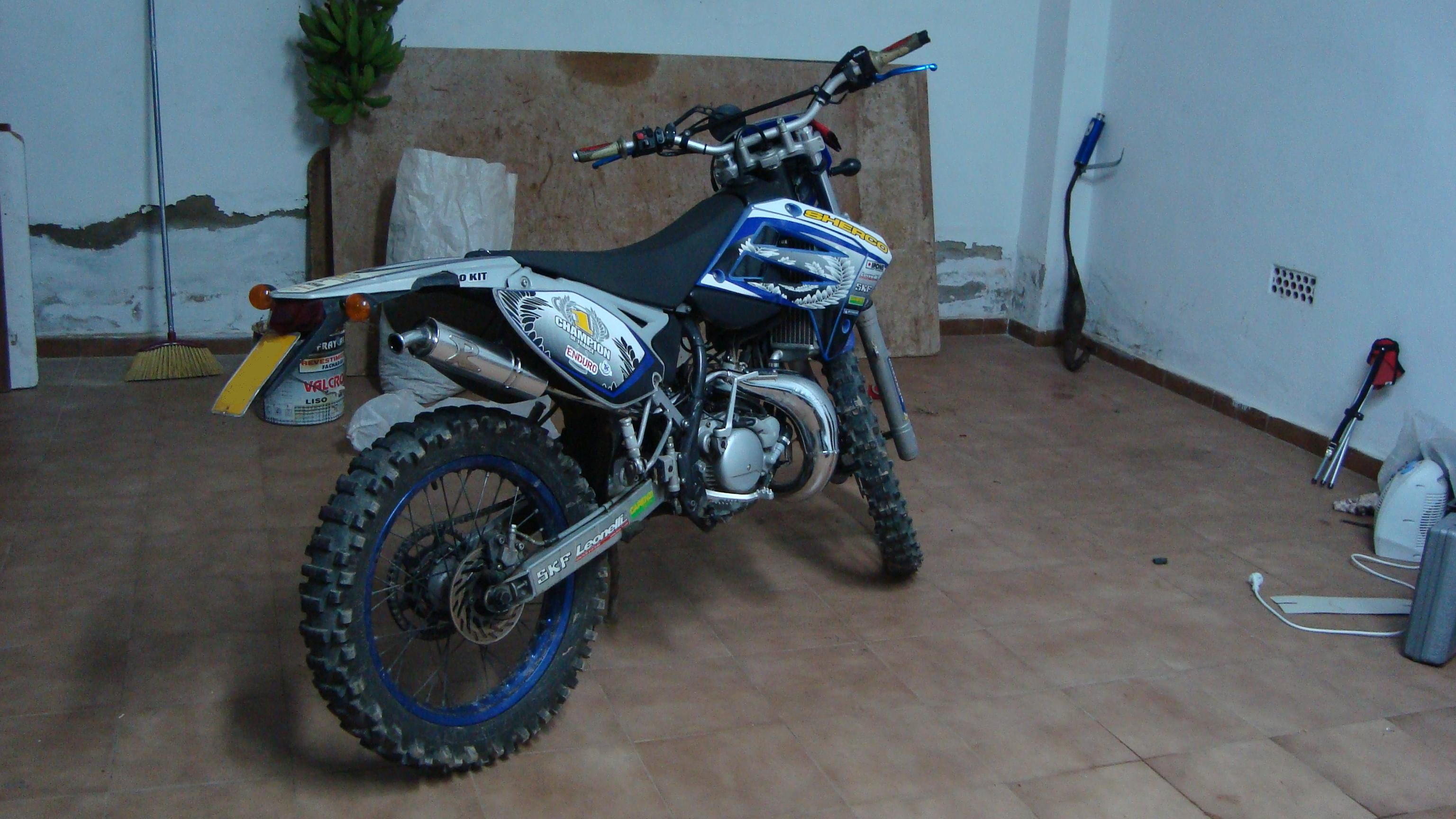 Sherco 125cc Enduro Shark Replica 2007 images #124658