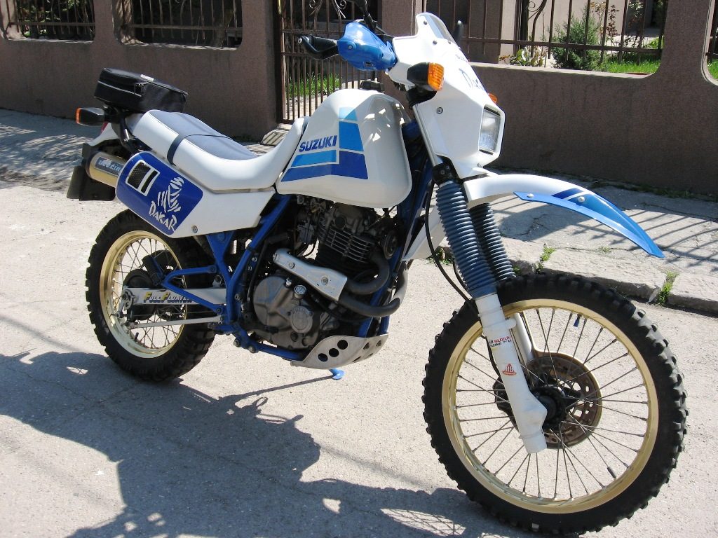 Suzuki DR 600 R Dakar 1988 wallpapers #160526