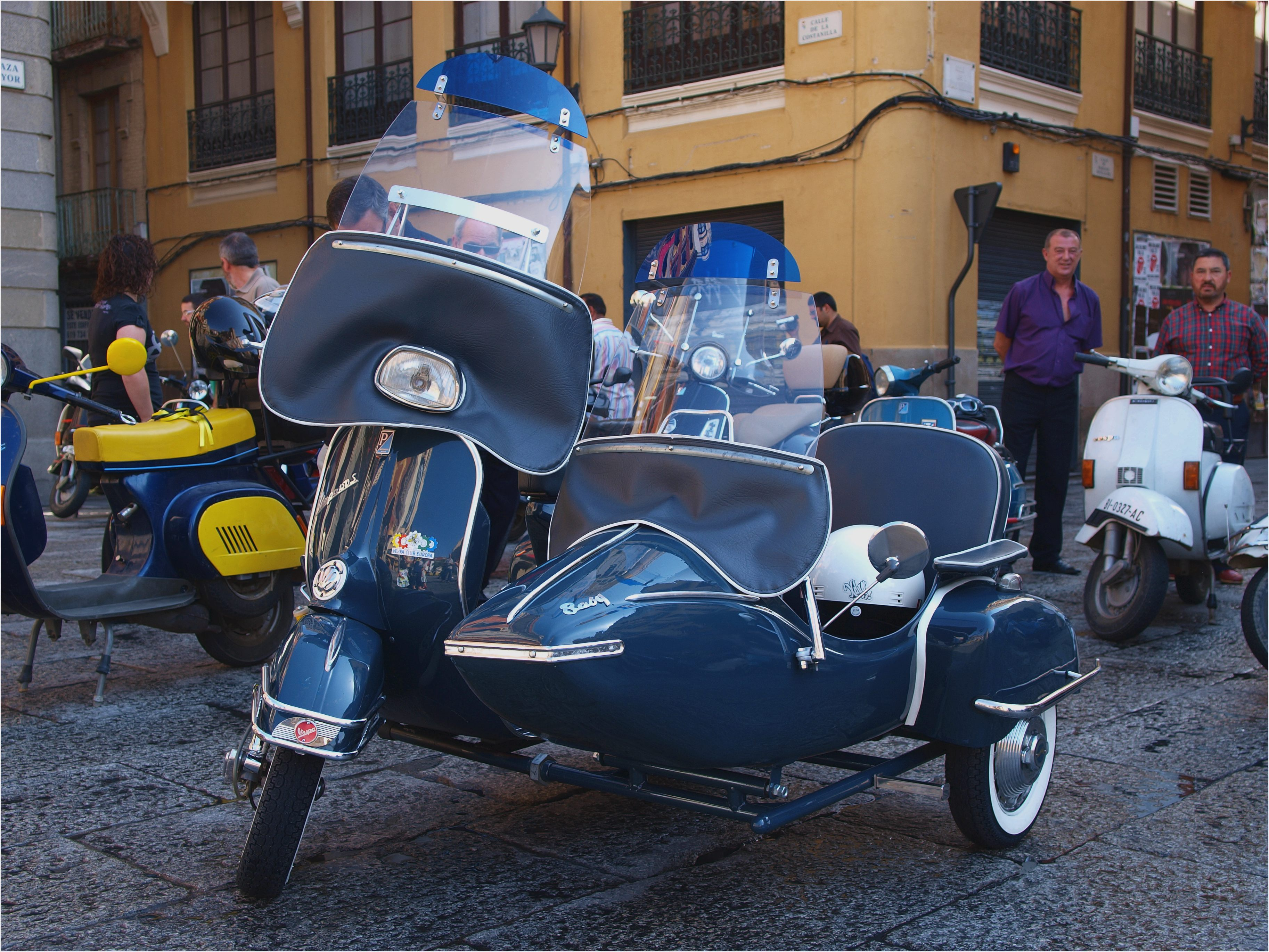 Vespa GTV 250 ie Sidecar 2009 wallpapers #129683
