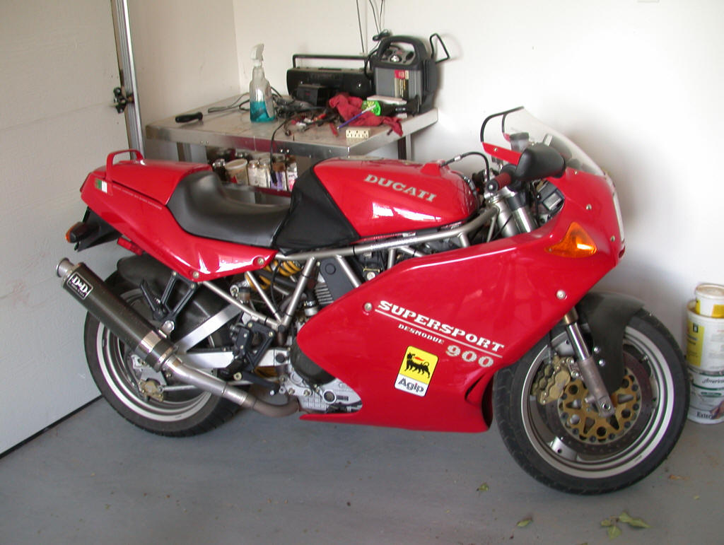 Ducati 900 SS 1994 images #78852