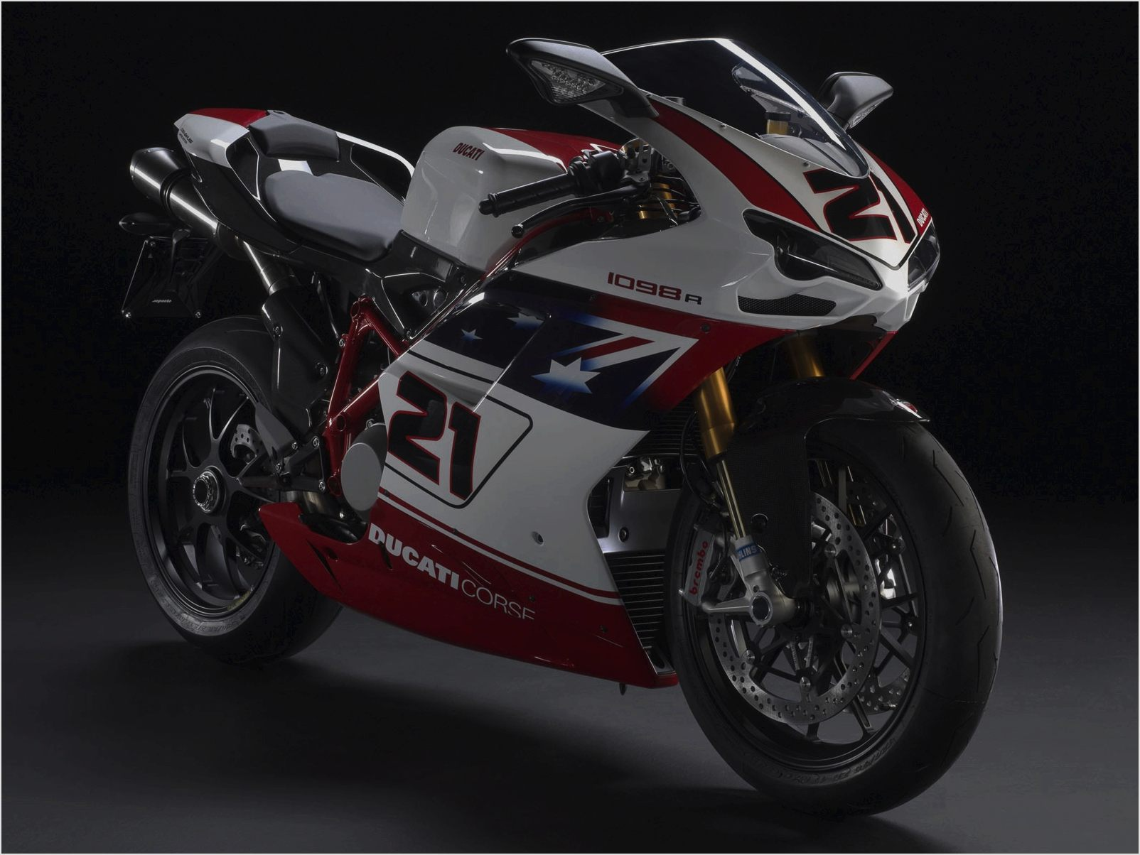 Ducati Superbike 1098 R Bayliss Limited Edition 2009 wallpapers #12436