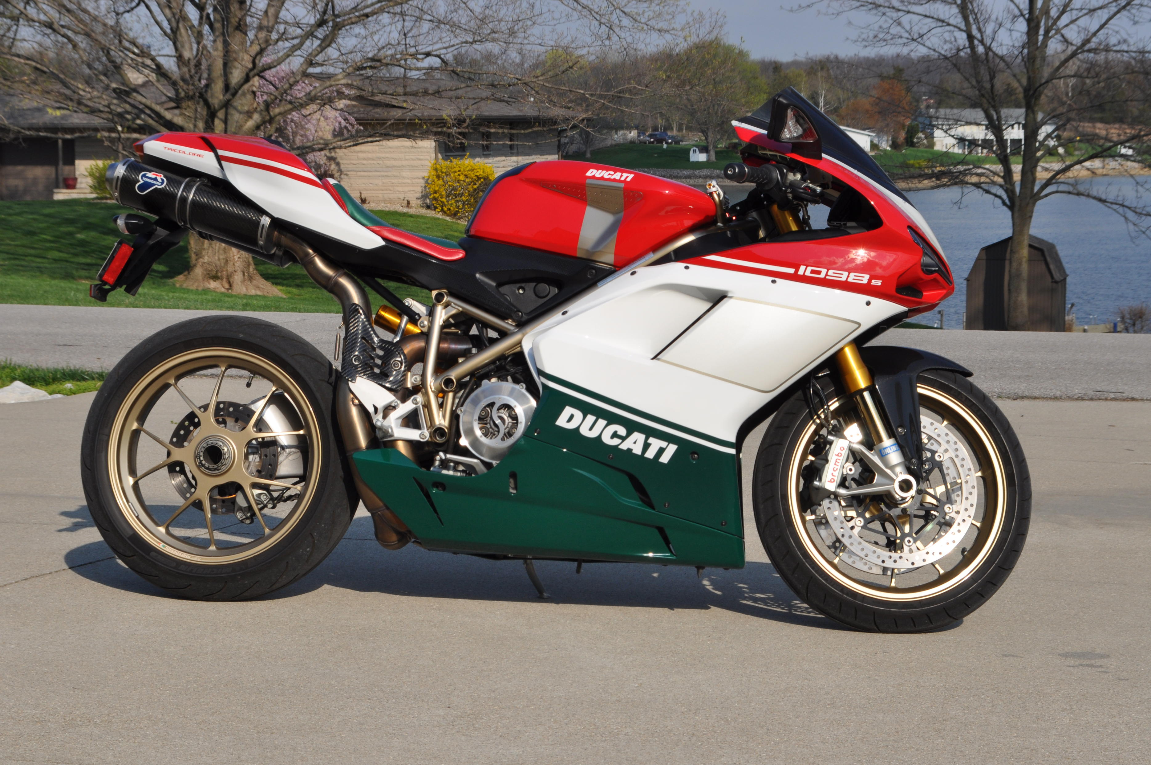 Ducati Superbike 1098 S Tricolore wallpapers #12039