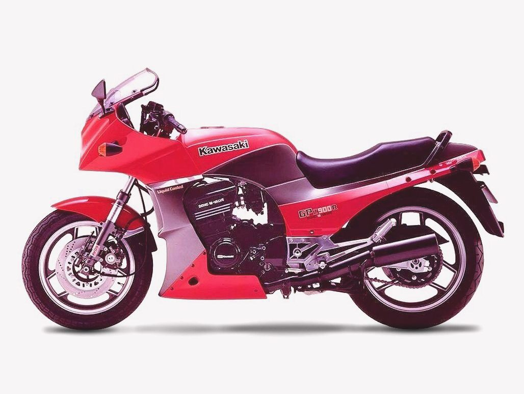 Kawasaki GPZ 305 Belt Drive wallpapers #142675