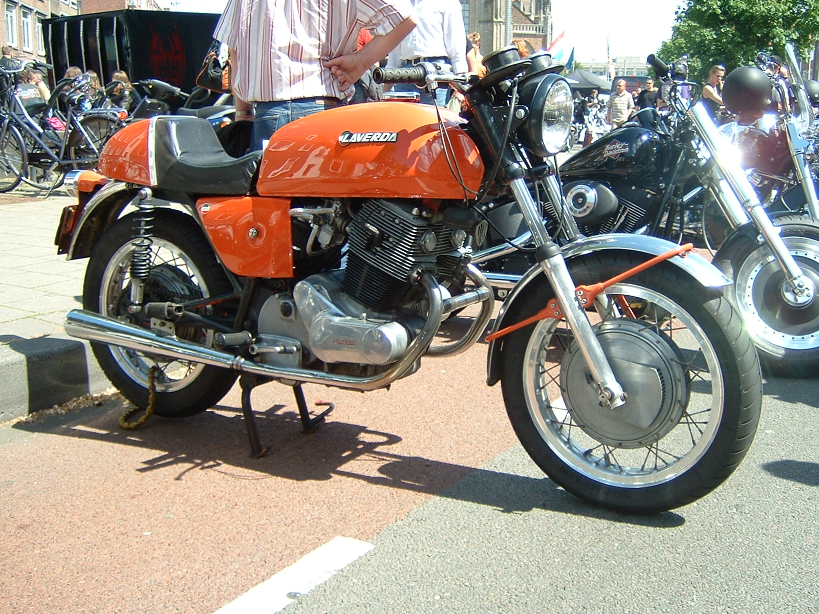 Laverda 500 1977 wallpapers #145851