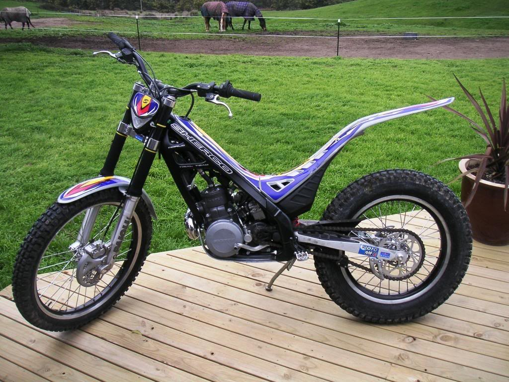 Sherco 125cc Enduro Shark Replica 2007 images #124659