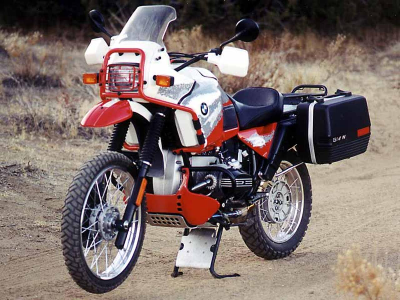 BMW R100GS 1988 images #30793
