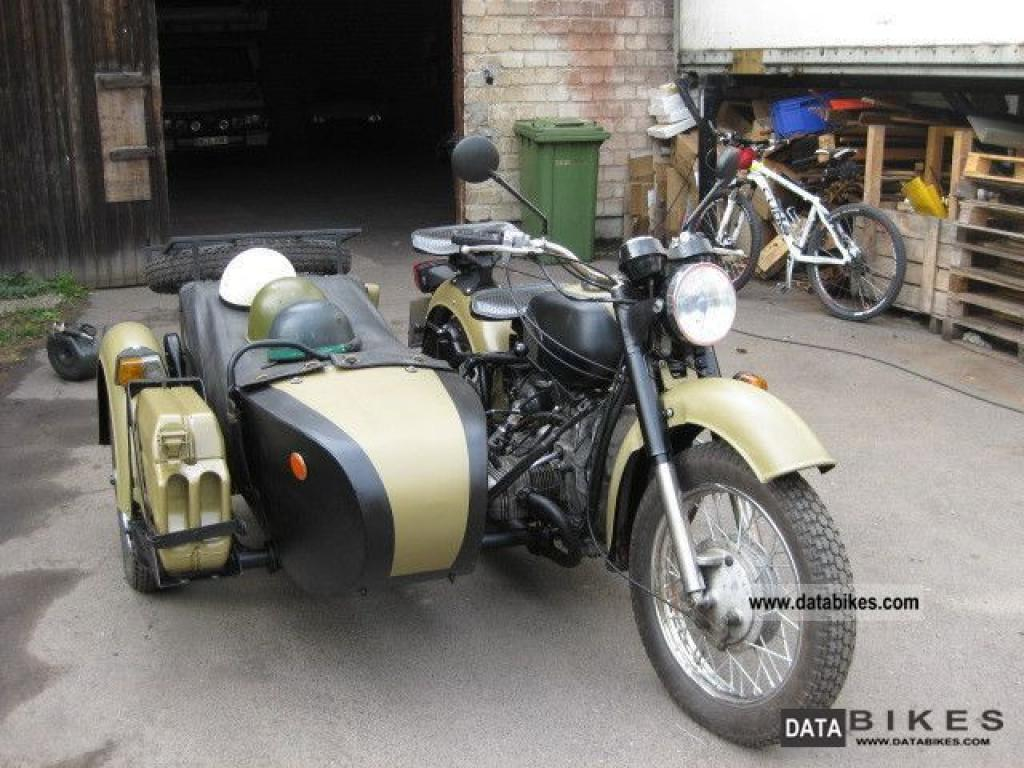 Dnepr MT 11 with sidecar 1991 images #70444