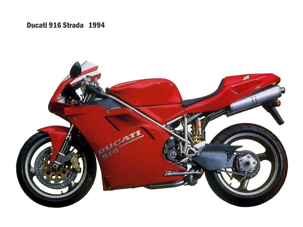 Ducati 916 Strada 1995 wallpapers #10849