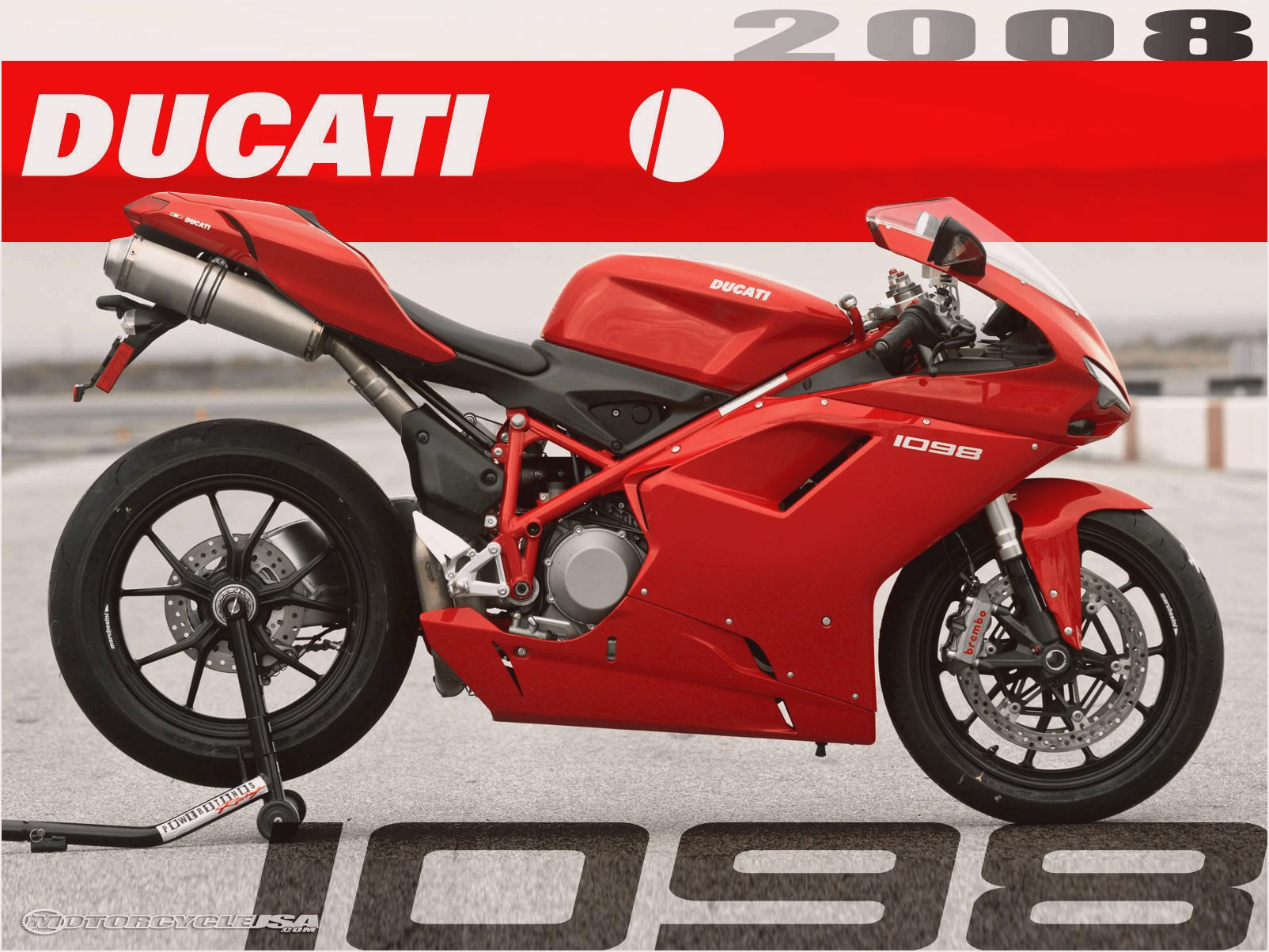 Ducati Superbike 1098 R Bayliss Limited Edition 2009 wallpapers #12437