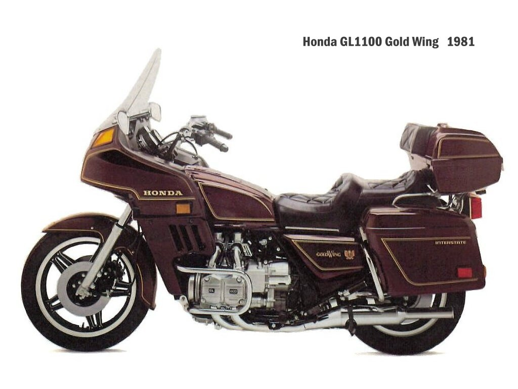 Honda GL 1100 Gold Wing 1982 images #81236