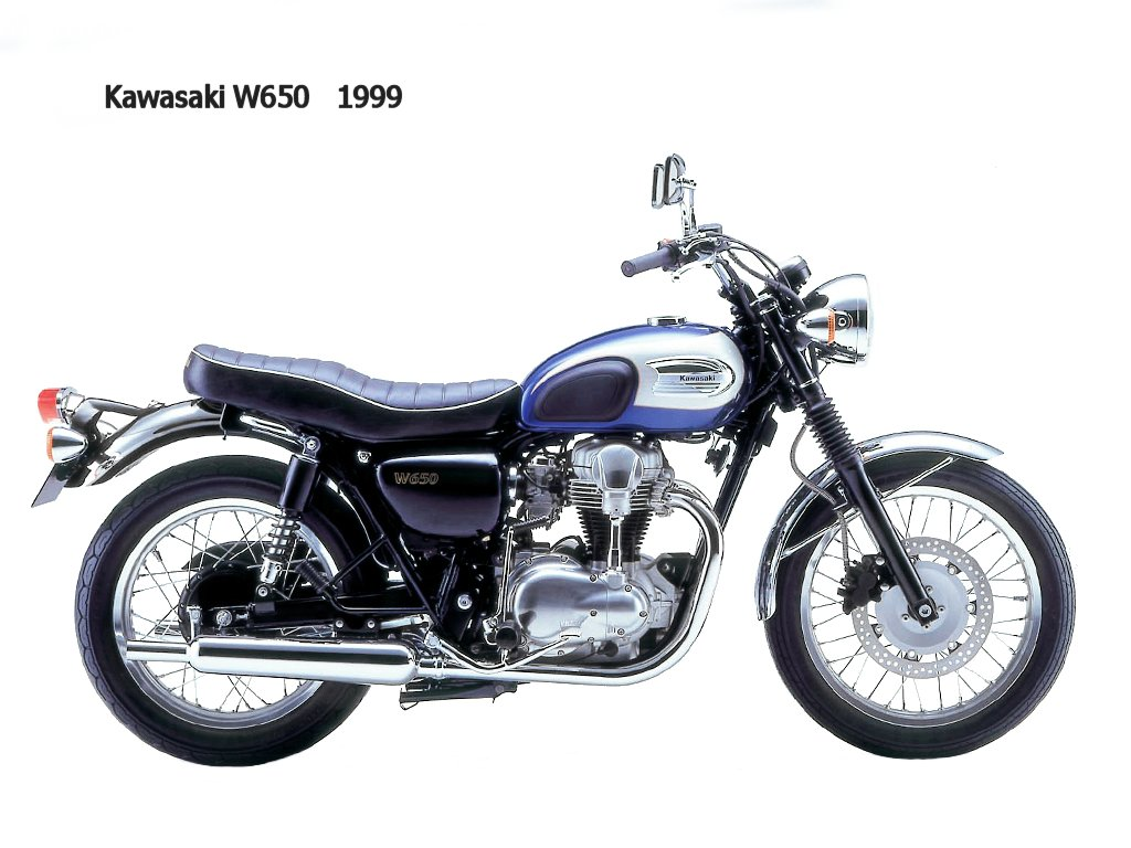 Kawasaki W 650 1999 wallpapers #134644