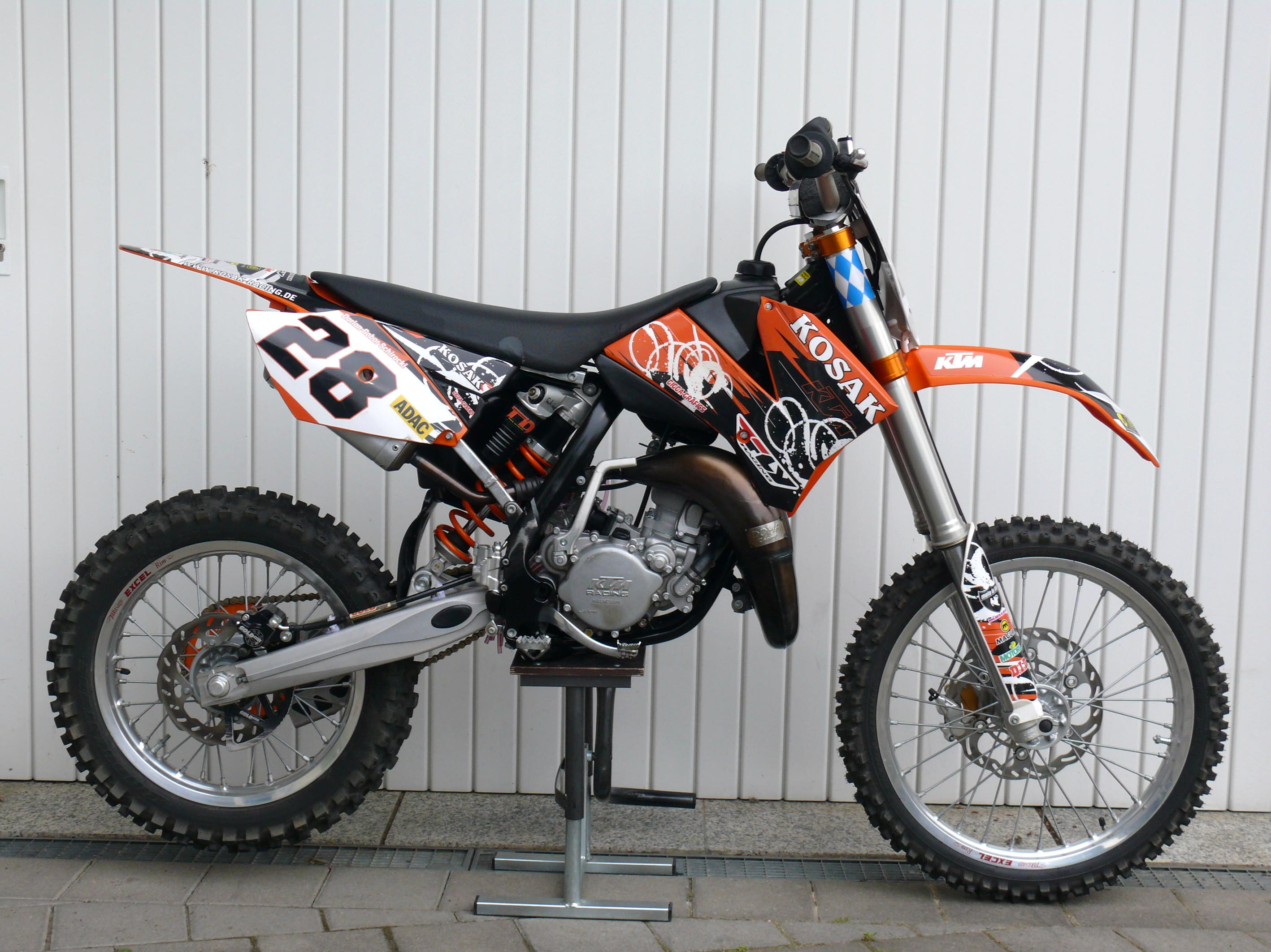 KTM 85 SX 19/16 wallpapers #135039