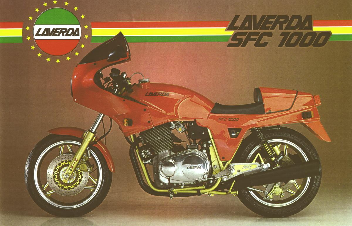Laverda 1000 SFC 1985 wallpapers #144462