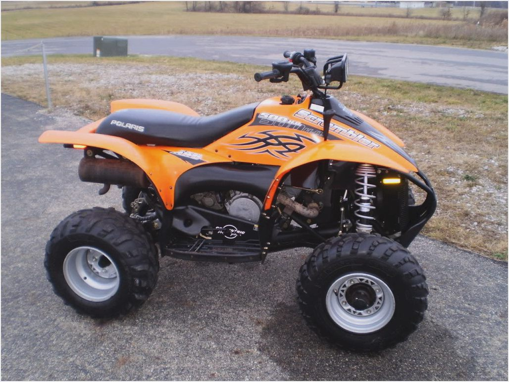 Polaris Scrambler 500 2008 images #121298