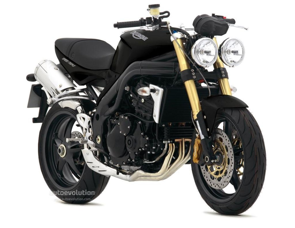 Triumph Speed Triple 900 1996 images #159240