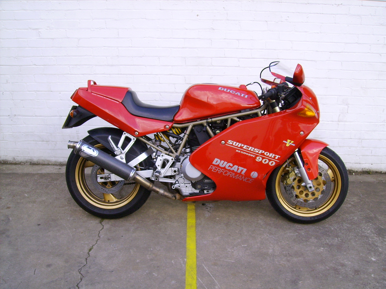 Ducati 900 SS Super Sport 1989 wallpapers #10450