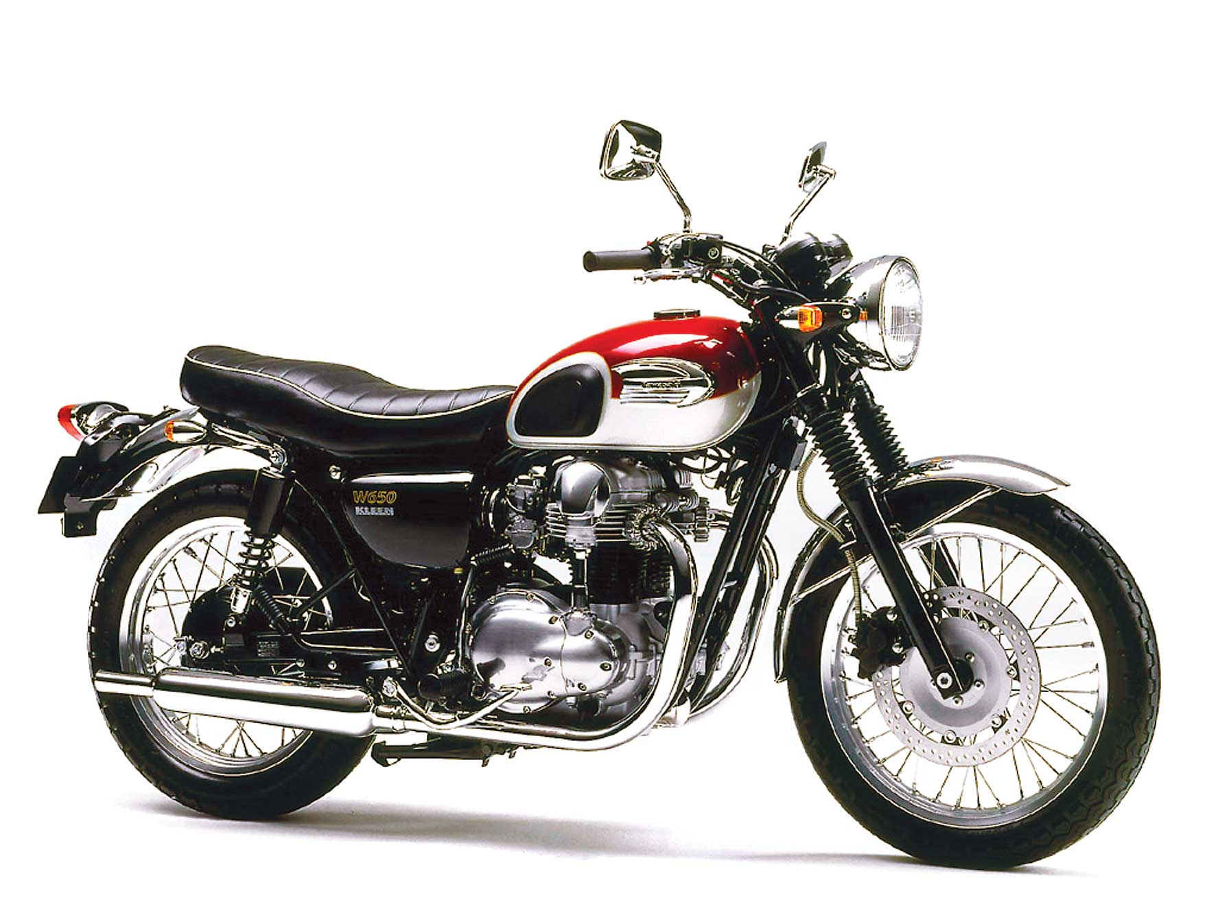 Kawasaki W 650 1999 wallpapers #134645