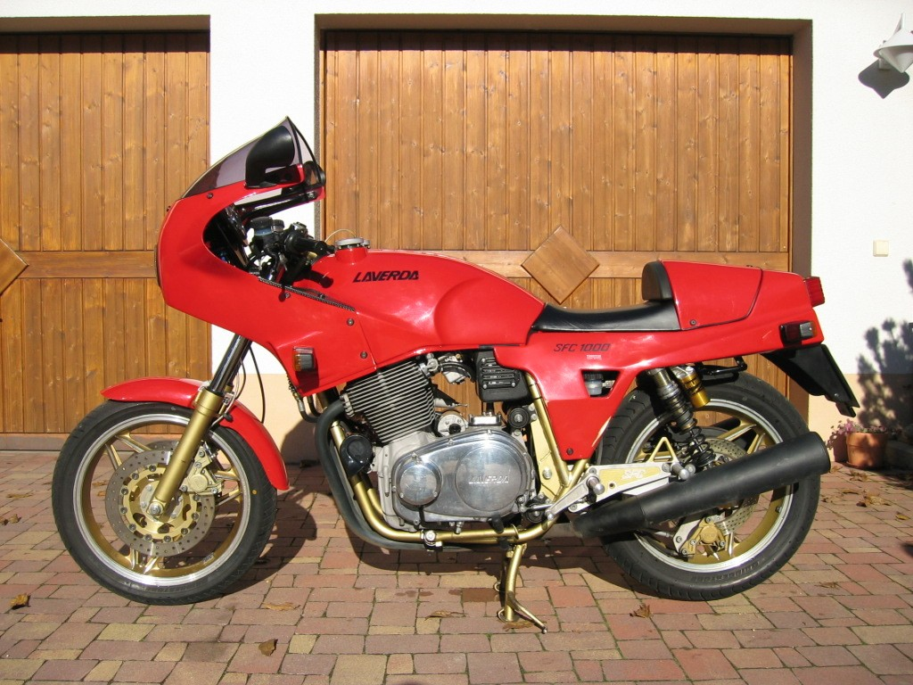 Laverda 1000 SFC 1985 wallpapers #144463