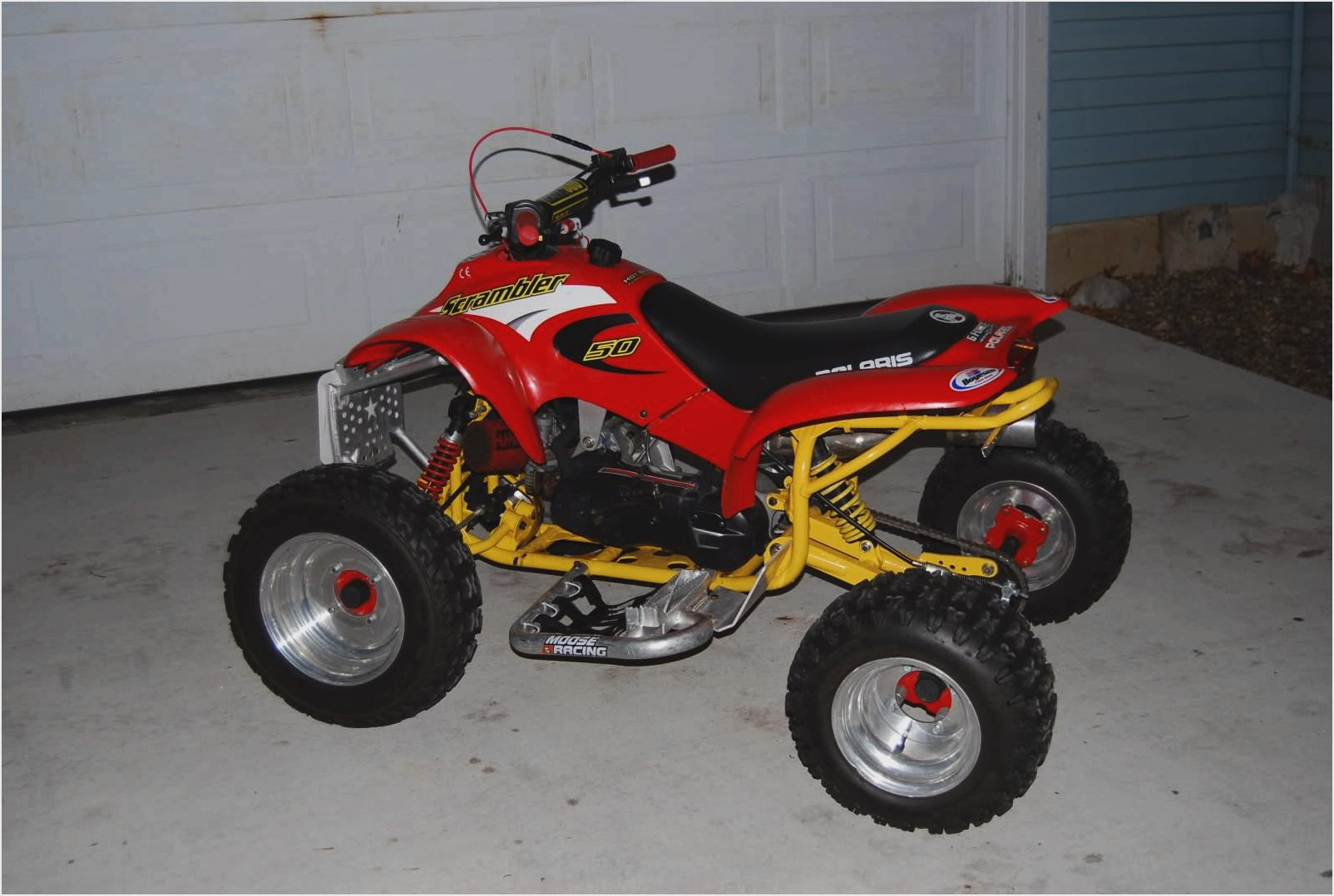 Polaris Scrambler 400/4x4 2001 images #121000