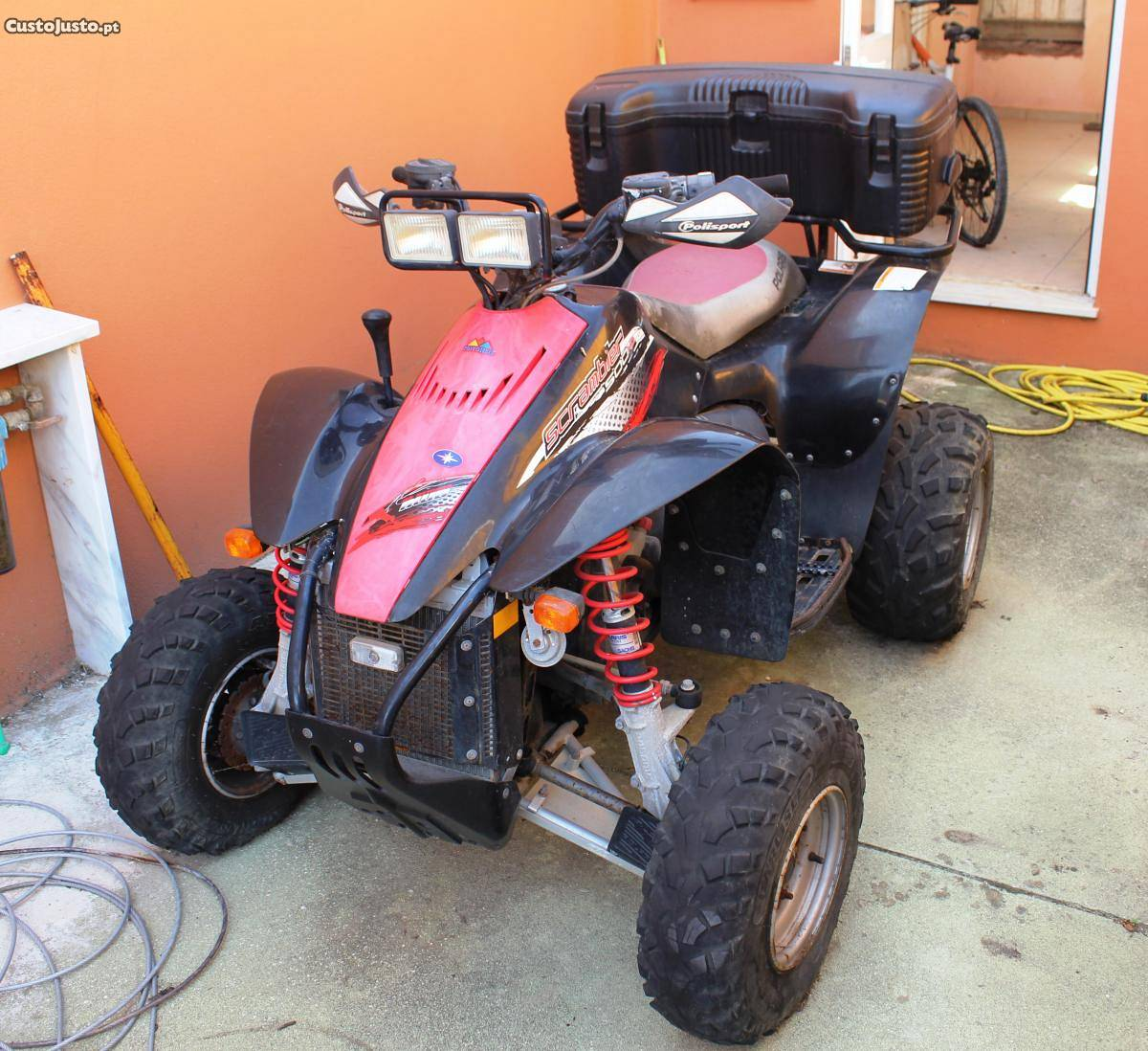 Polaris Scrambler 500 2008 images #121299