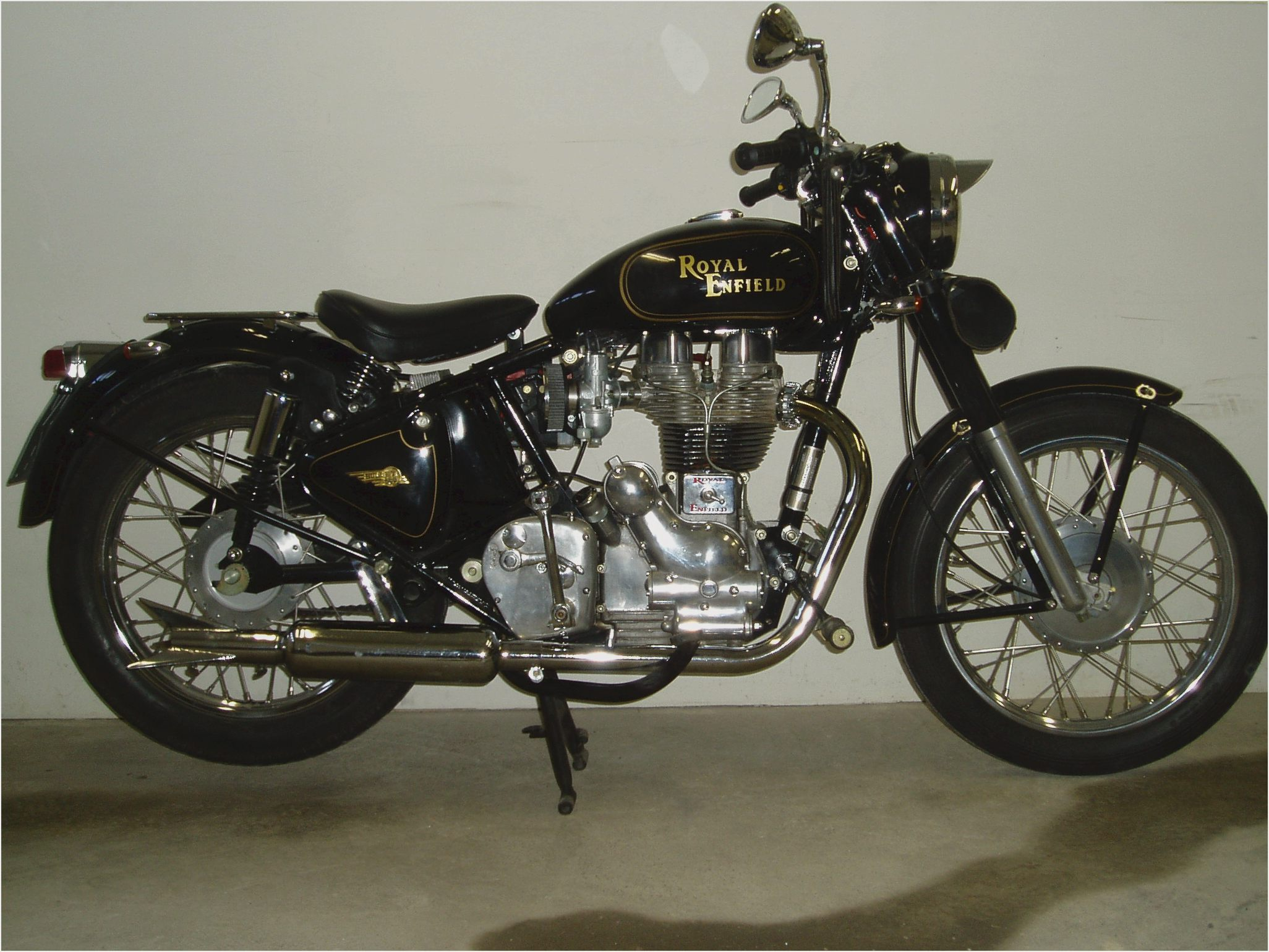 Royal Enfield Bullet 500 ES Deluxe 2007 images #123666