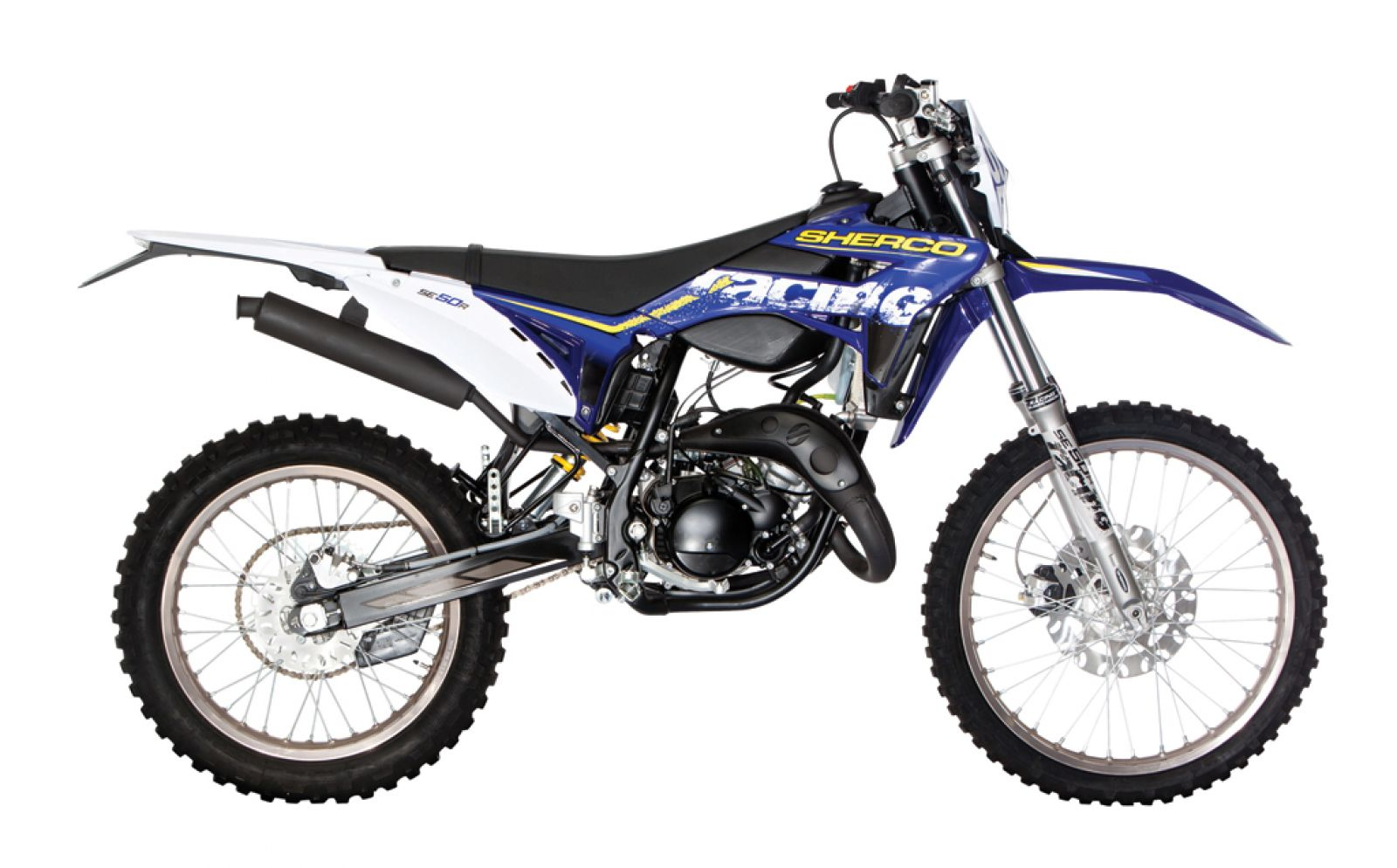 Sherco 125cc Enduro Shark Replica 2007 images #124661
