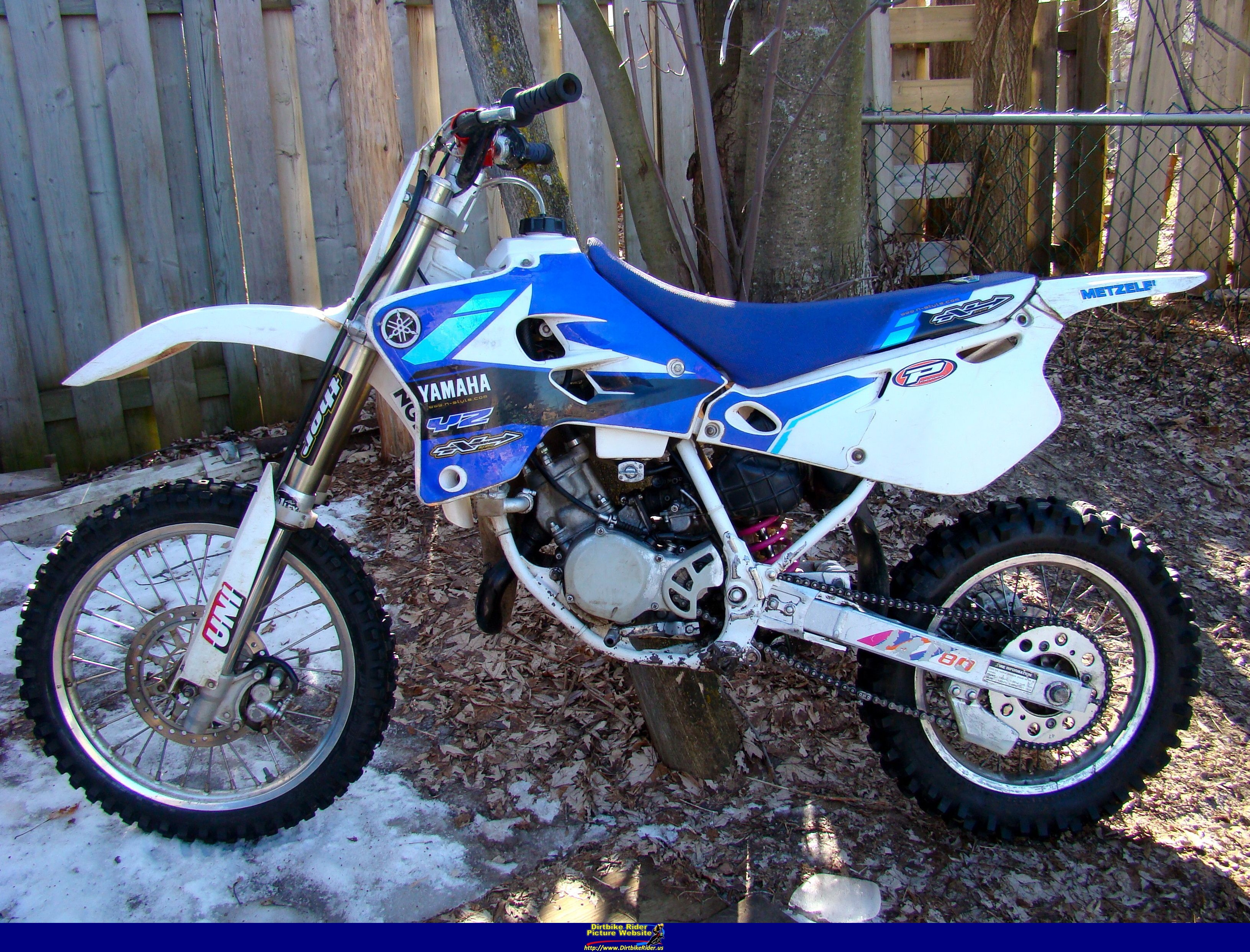 79 Yz 80 Dg: Semi Restored 1992 Yz 80 Walk Around And