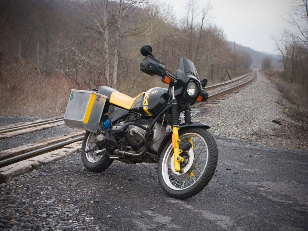 BMW R100GS 1988 images #30795