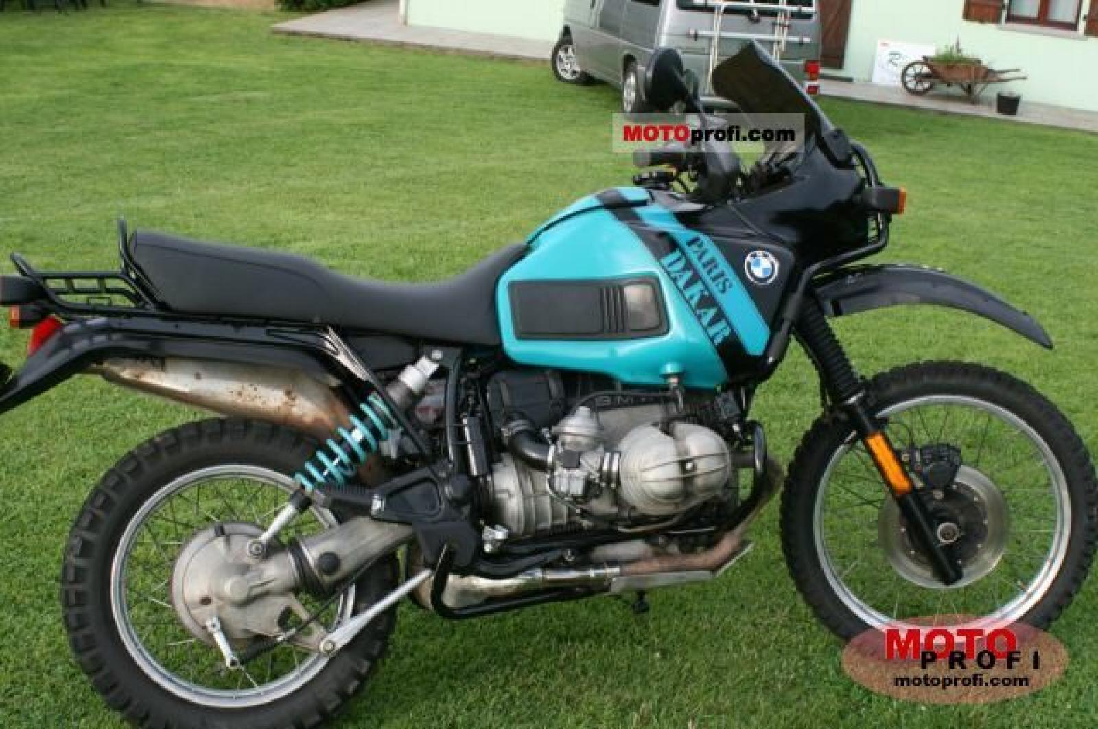 BMW R100GS 1989 images #155172