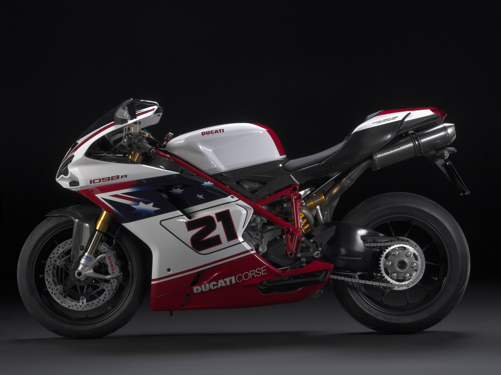 Ducati Superbike 1098 R Bayliss Limited Edition 2009 wallpapers #12439