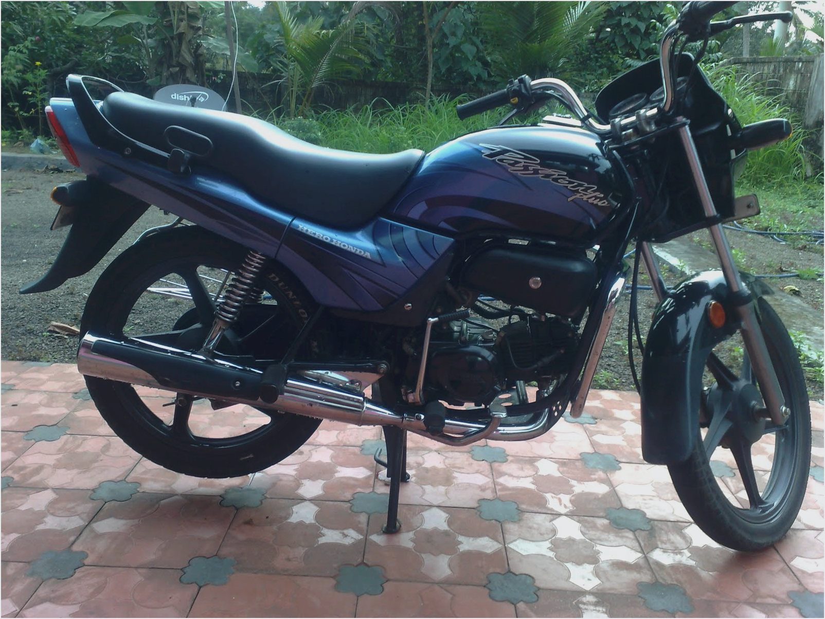 Hero Honda Passion Plus 2007 images #156061