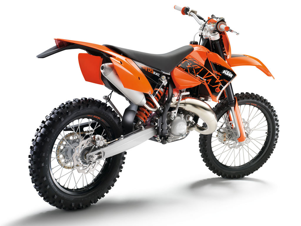 KTM 125 EXC 2010 wallpapers #161322