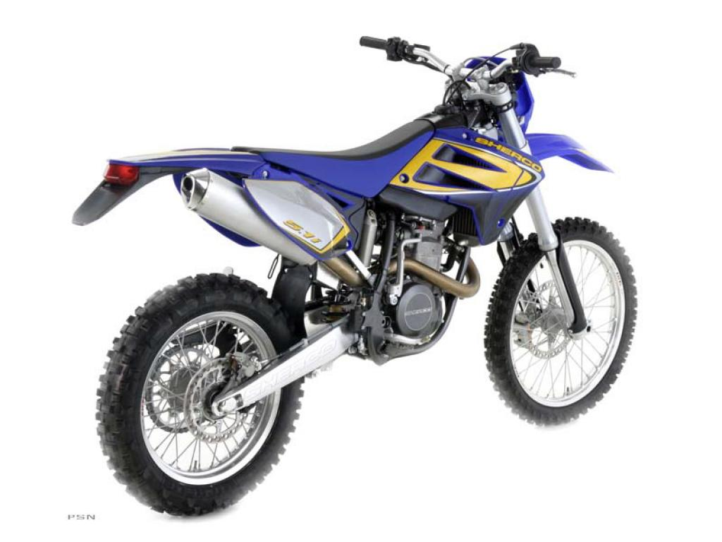 Sherco 125cc Enduro Shark Replica 2007 images #124662