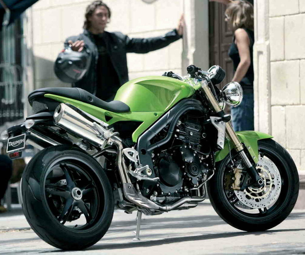 Triumph Speed Triple 1050 2007 images #125852