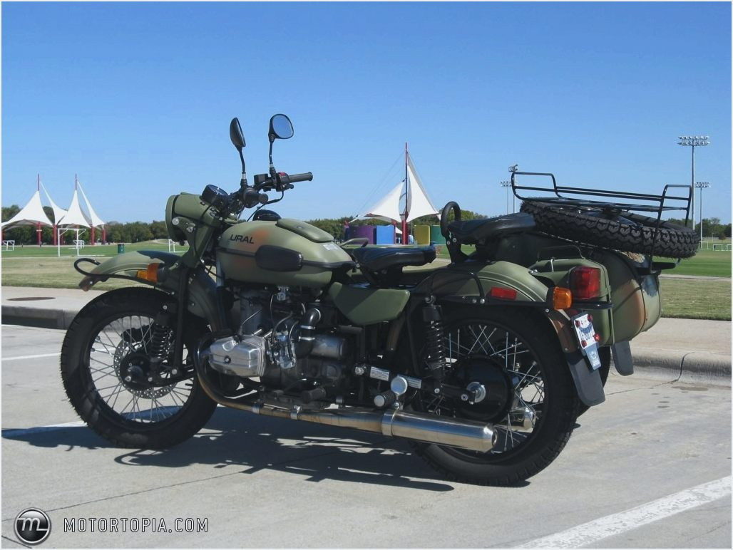 Ural M-63 with sidecar 1977 images #127213