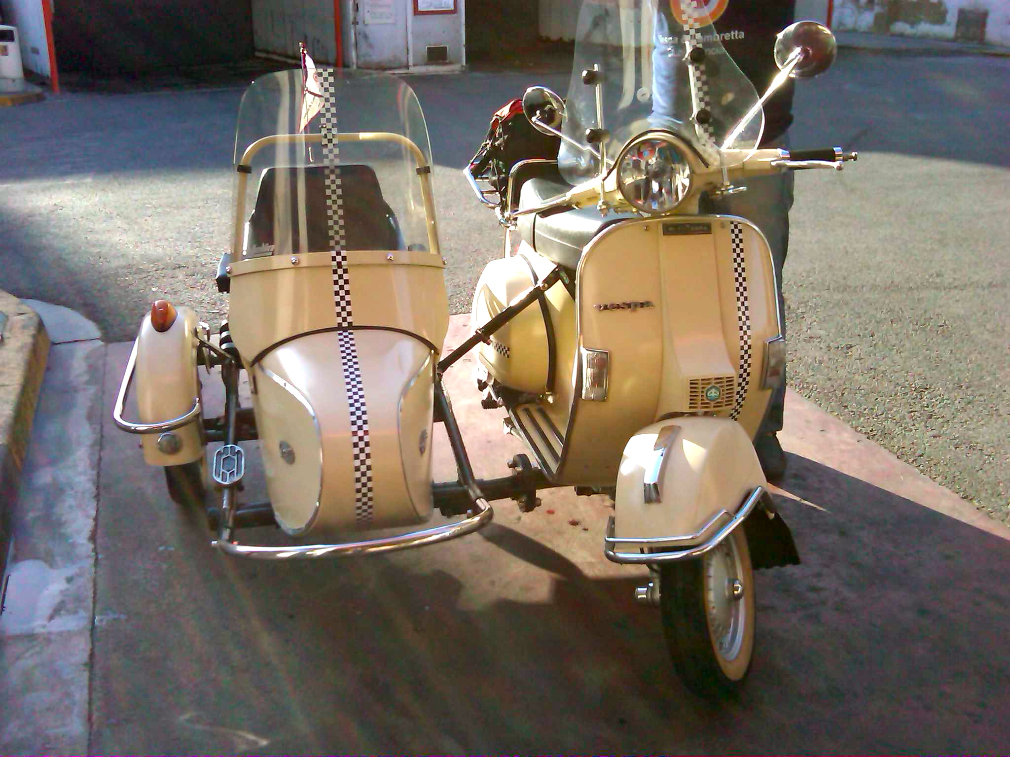 Vespa GTV 250 ie Sidecar 2009 wallpapers #129687