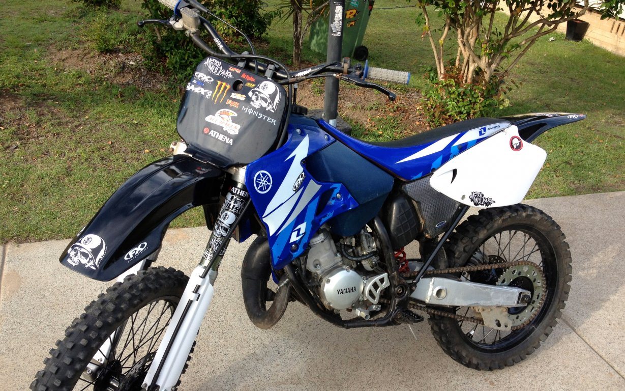 1991 yamaha yz 125 pics specs and information. Black Bedroom Furniture Sets. Home Design Ideas