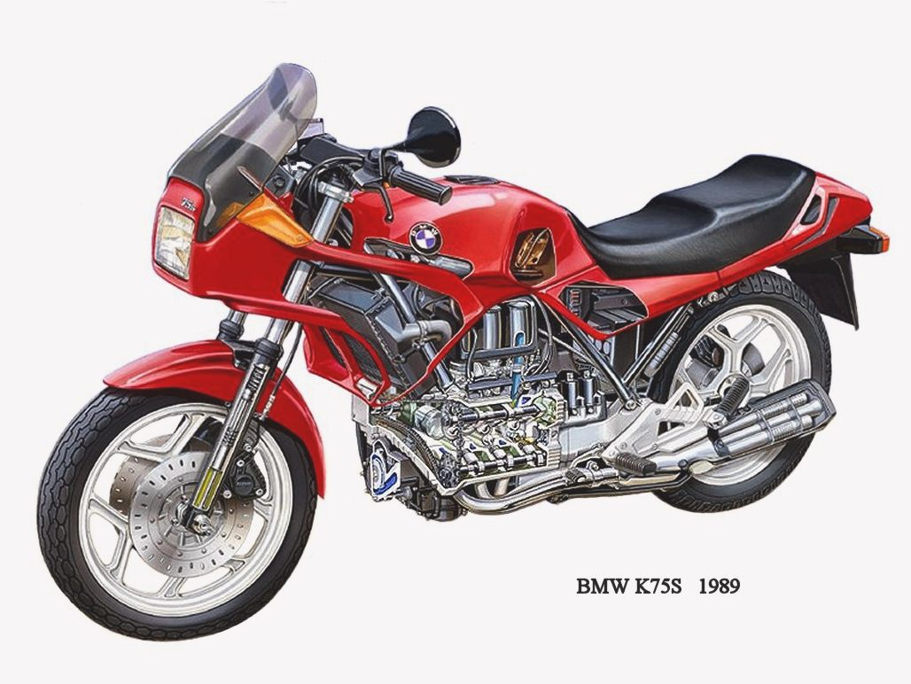 BMW K75RT images #5105